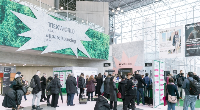 Winter 2017 editions of Texworld USA and Apparel Sourcing USA boast record breaking attendance