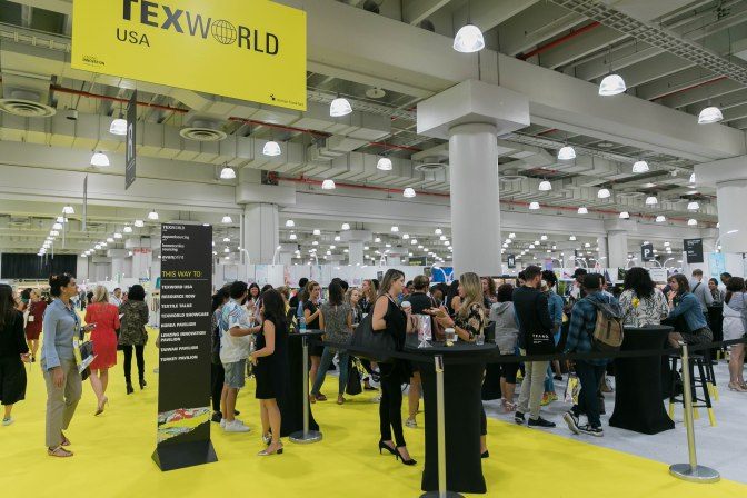 Summer 2017 editions of Texworld USA and Apparel Sourcing USA Break Exhibitor and Attendee Records