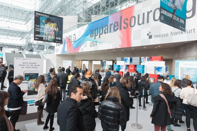 Winter 2018 edition of Texworld USA and Apparel Sourcing USA breaks exhibitor and attendee records